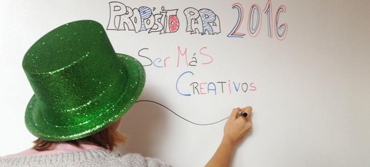 Propósito año nuevo creatividad