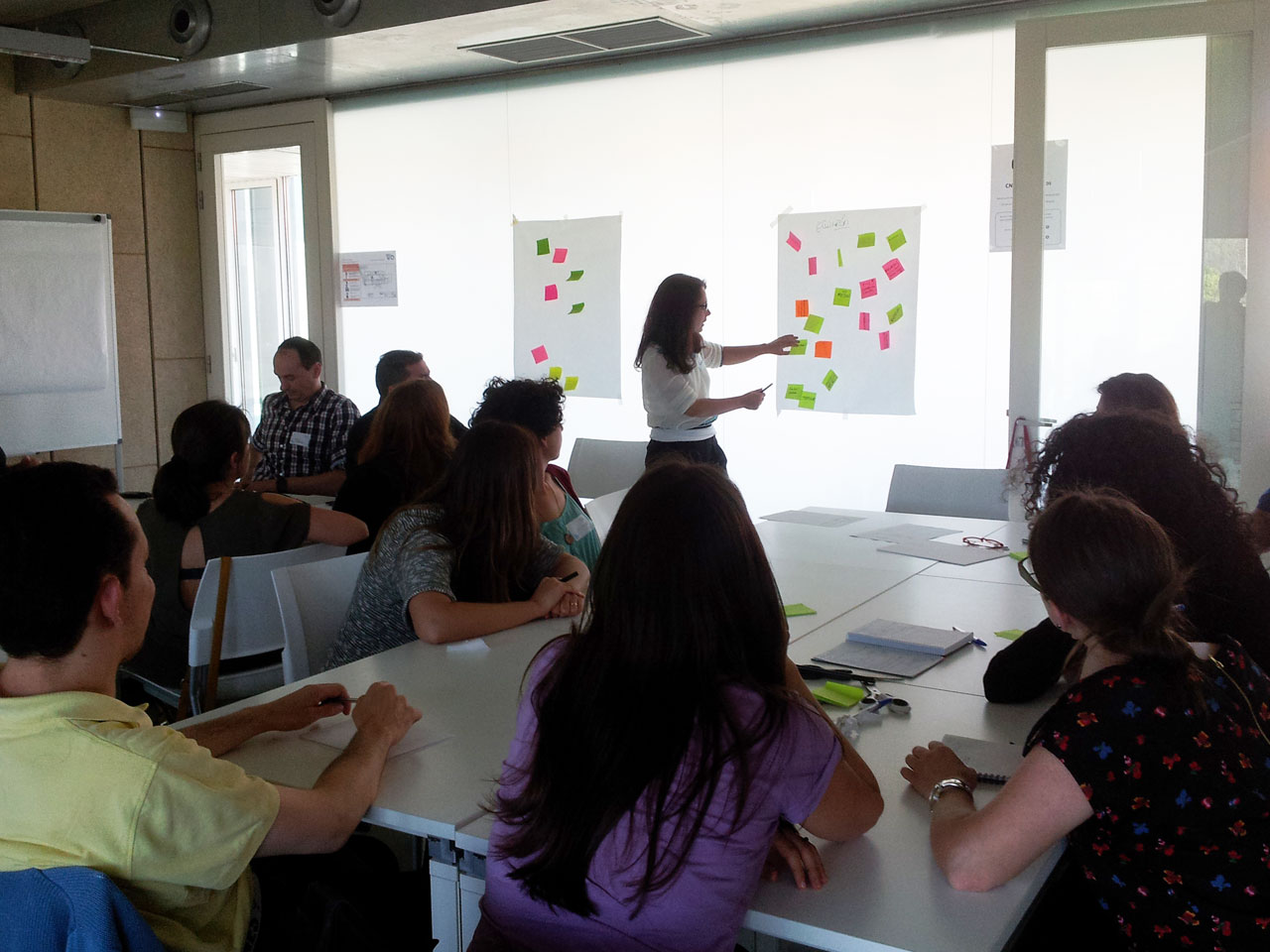 Designthinking social amtega