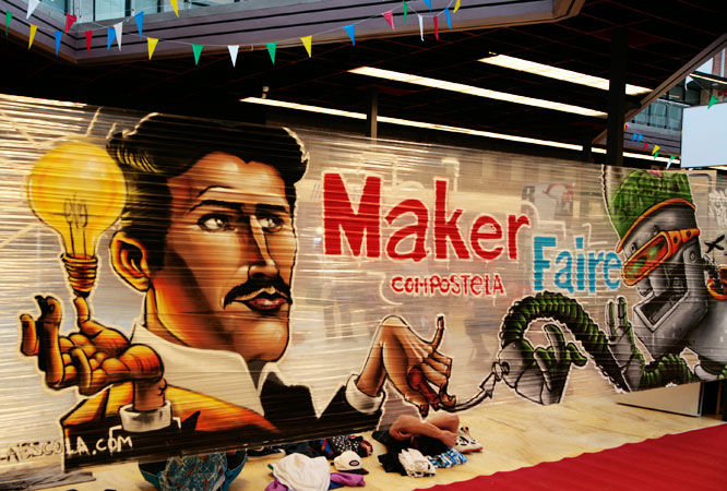 Maker Faire Galicia design thinking social