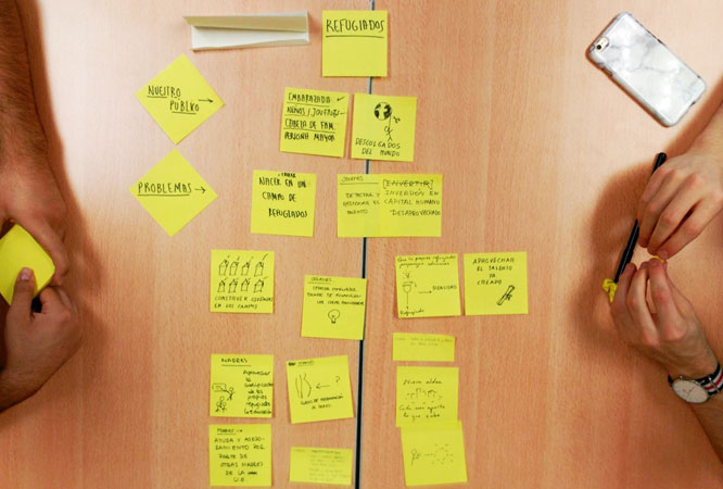 Taller de Design Thinking en Akademia Project