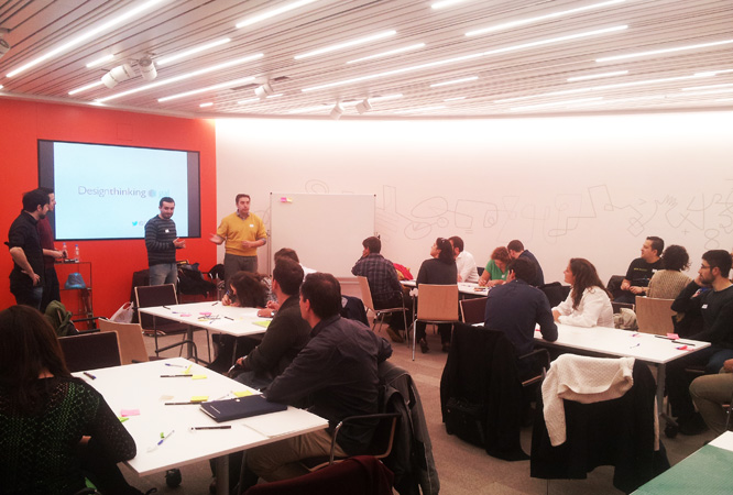 Taller de Design Thinking en Bankinter