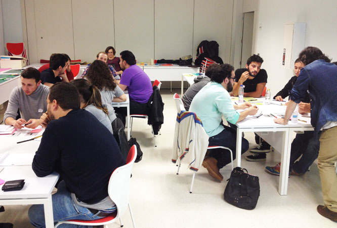 Taller de Design Thinking en la UDC