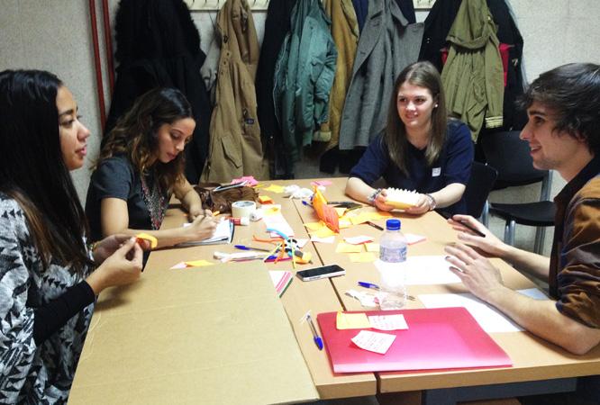 Taller de Design Thinking en Universidad de Nebrija