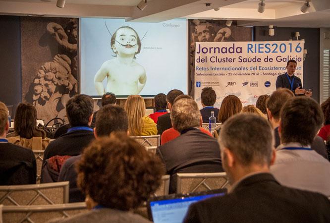 Design Thinking en RIES2016 del Cluster de Saude de Galicia