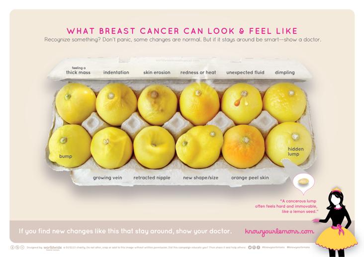 campaña cáncer limones