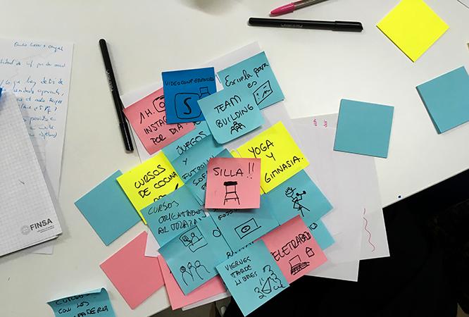 Técnica de creatividad brainstorming